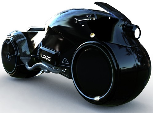 Icare science fiction motorrad wird real