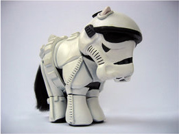 star wars pony. Black Bedroom Furniture Sets. Home Design Ideas
