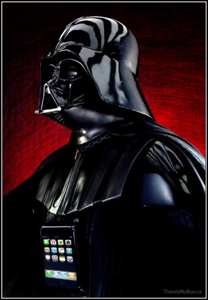 Darth Vader iPhone