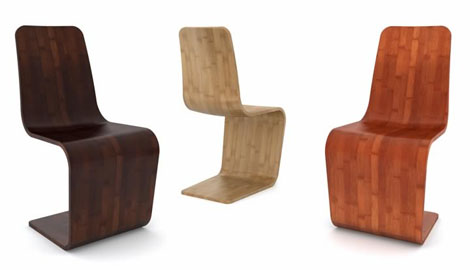 nachhaltiges Möbel Design Stuhl