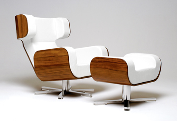 Designer-Sessel Lyx Wing Lounge Chair von Michael Malmborg