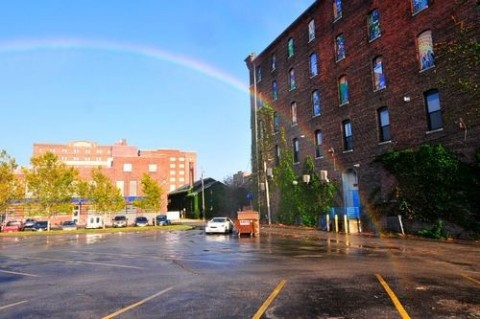 Regenbogen-Maschine