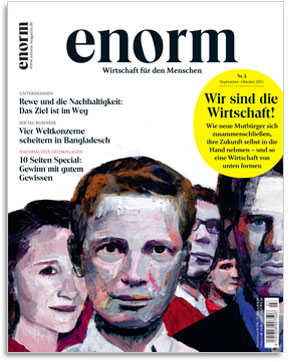enorm Magazin Cover