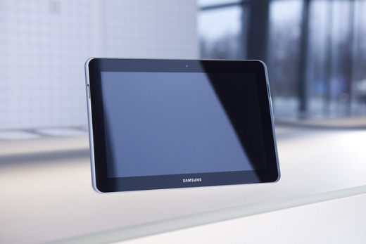 tablet pc test bei stiftung warentest samsung galaxy tab. Black Bedroom Furniture Sets. Home Design Ideas