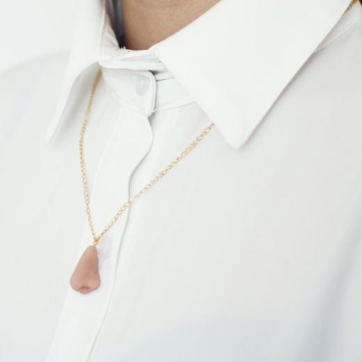 Kleine Nase Halskette